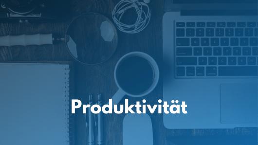 Buchempfehlungen zum Thema Produktivität