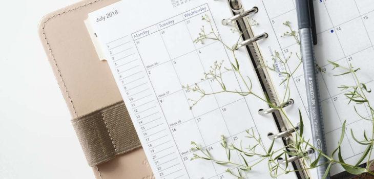 Woche planen: 3 Dinge, die Du Sonntags tun solltest