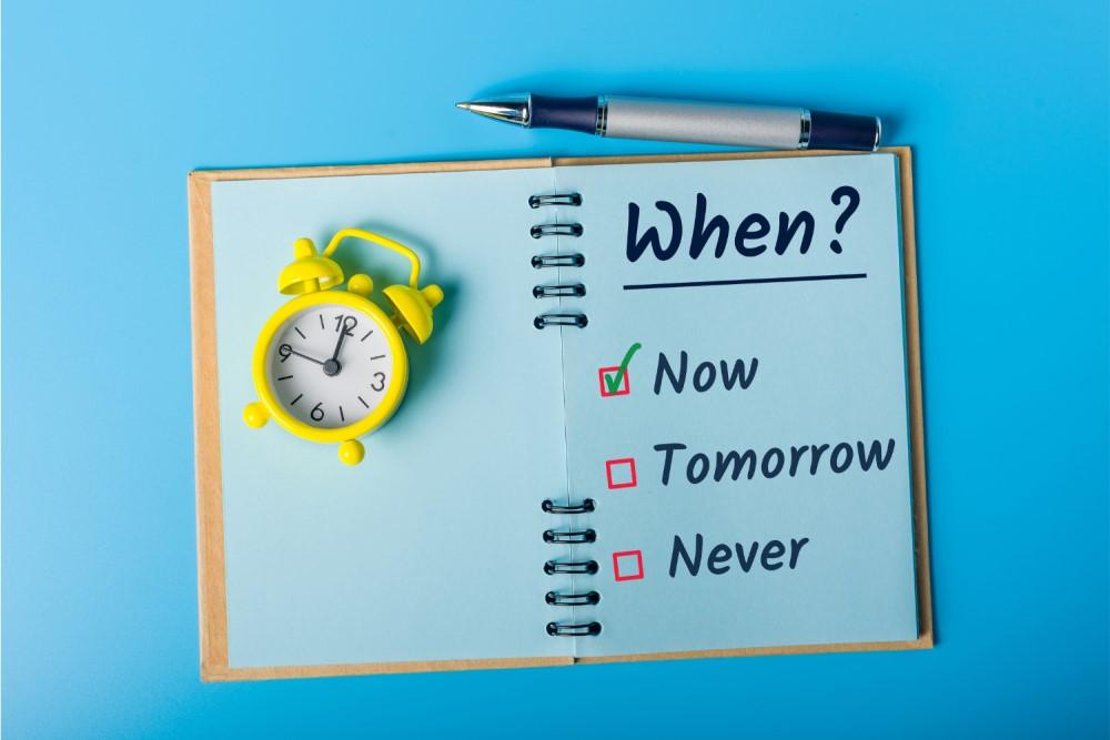 Aufschieben war gestern! - 5 Methoden gegen Aufschieberitis im Alltag