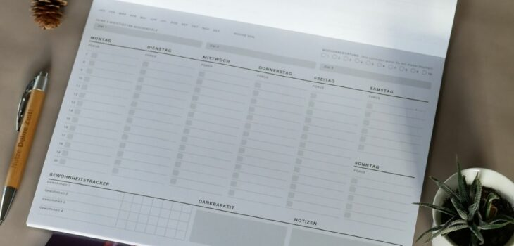 Wochenplanung: So planst Du richtig Deine Woche